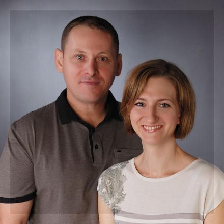 Magdalena Brzoza-Drobos i Marcel Drobos